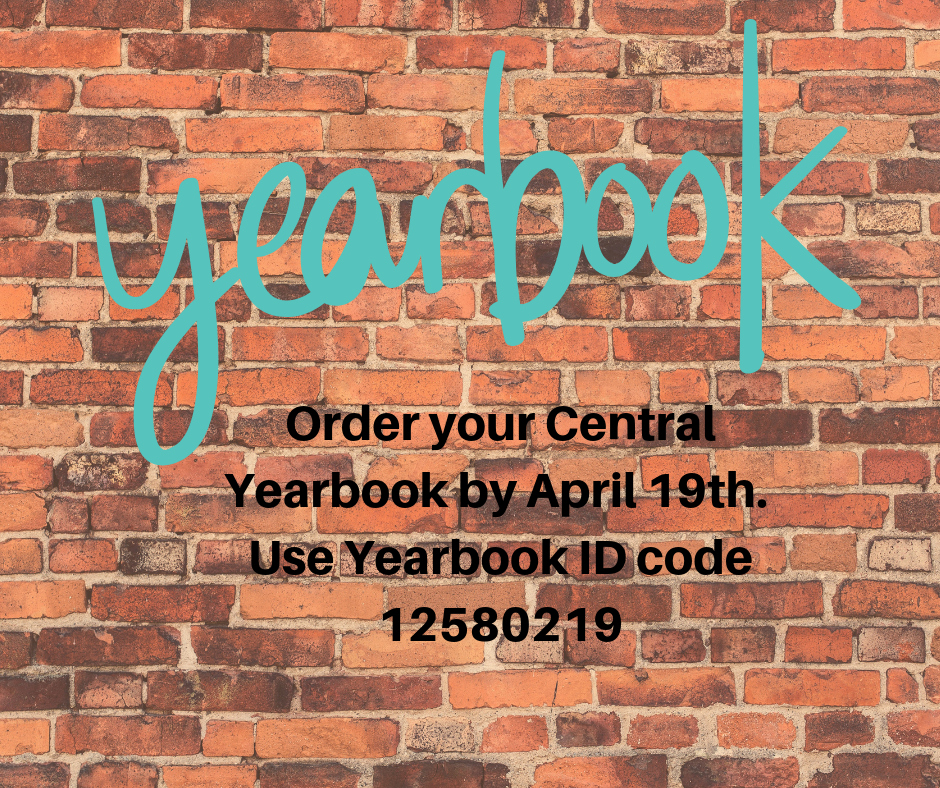 Order Your Central Yearbook