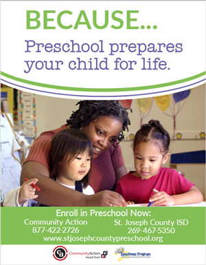 Preschool prepares your child for life