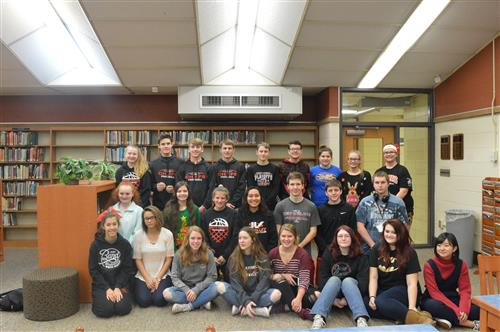 December High School Students of the Month!