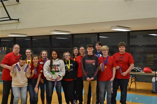 Middle and High School Science Olympiad Headed to State Competition!