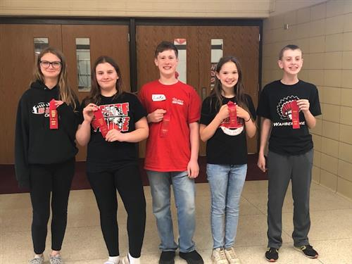 Congratulations 6th Grade Math Meet Team!